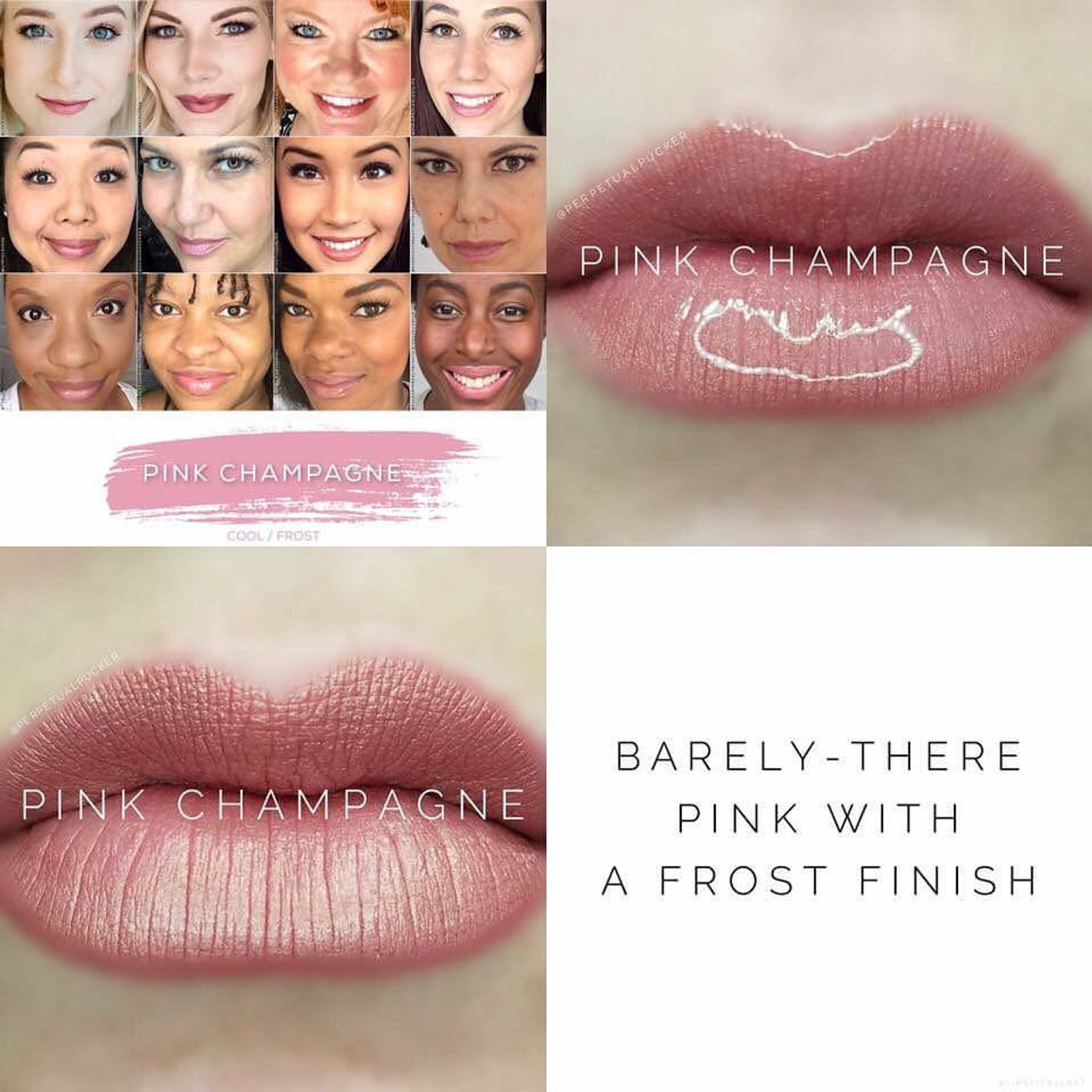 YOU need Pink Champagne LipSense in your collection!