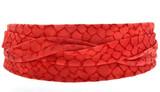 ADA OBI Wrap Belt [Red Mosaic]