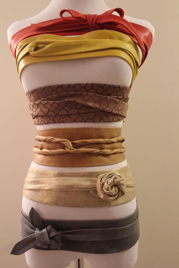 ADA OBI Wrap Belt [Taupe]