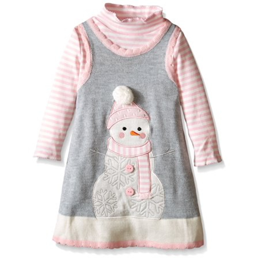 Bonnie Baby Snowman Dress (3 - 6 Months)