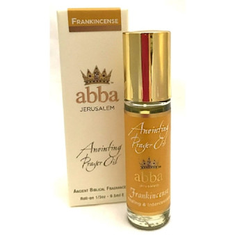Anointing Prayer Oil Frankincense Roll On1/3 oz.