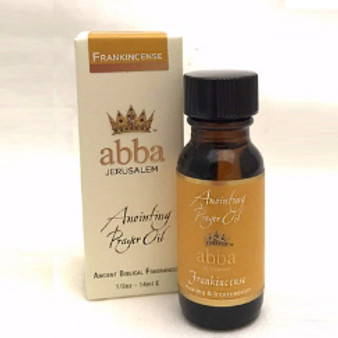 Frankincense Oil 1/2 oz.  Anointing Oil.  From Galilee.