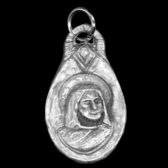 St Monica: Patron of Mothers for Mothers with Difficult Children and for Overcoming Worry  Medal (Front)