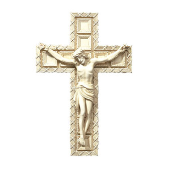 Boxed Crucifix with Gift Card and Prayer before the Crucifix