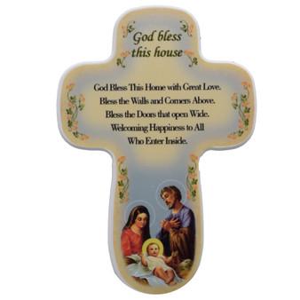 Holy Family House Blessing Cross