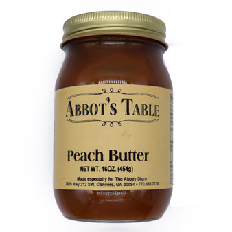 Abbot's Table Peach Butter