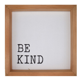 """Be Kind,"" Wall Décor,  About 11"" x 11"" x 2"""