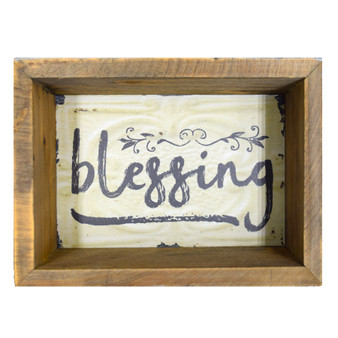 """Blessing"" Wall Box, 7"" x 5"""