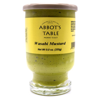 Abbot's Table Wasabi Mustard 9 oz.