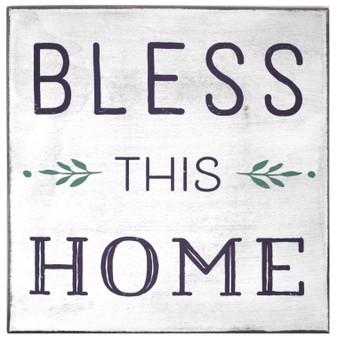 """Bless This House"" Magnetic Wall Plaque, 8.5"" x 8.5"""