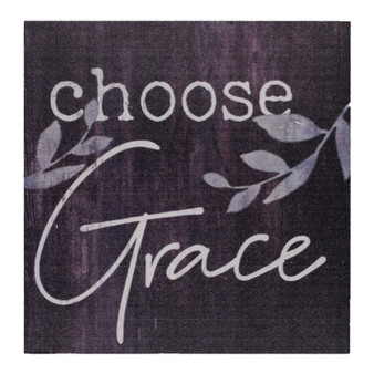 """Choose Grace""  3.5"" x 3.5"" Pine Block"