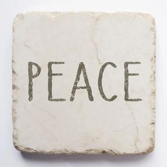 """Peace"" Scripture Stone, 2"" x 2"" x 1"""
