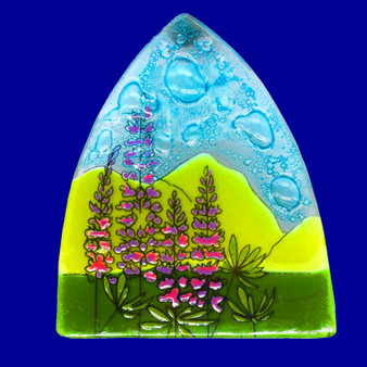 """Lupine Nightlight, Approx. 4.25"""" x 3.75"""" at Widest Points"""