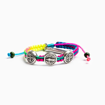 Blessing for Kids Benedictine Rainbow Bracelet