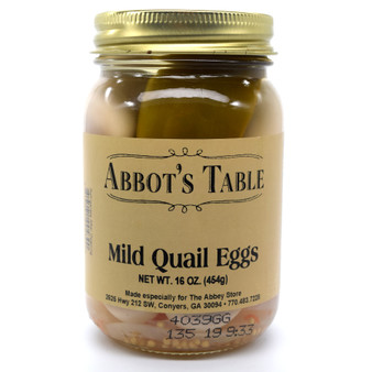 Abbot's Table Mild Quail Eggs 16 oz.