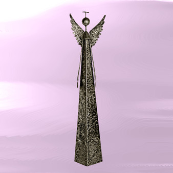 Tall Metal Angel, 23.25 Inches