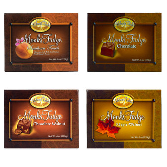 Abbot's Table Fudge Sampler:  All Four Fudge Flavors