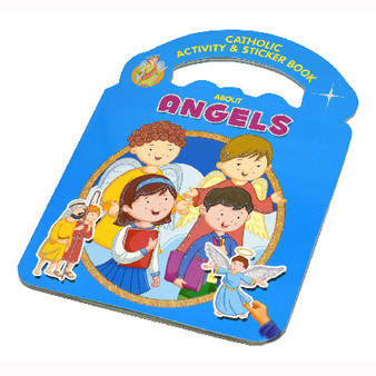 Catholic Activity & Sticker Book About Angels
