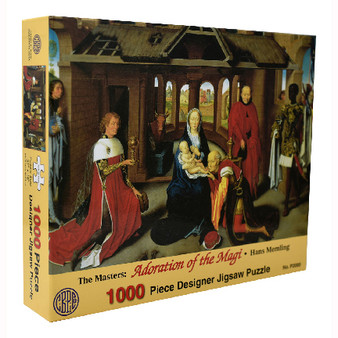 1000 Piece Adoration of the Magi Jigsaw Puzzle