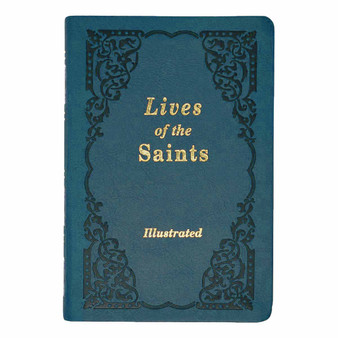 Copy of Lives Of The Saints (Illustrated) Blue Cover.