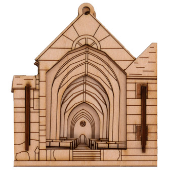 Holy Spirit Monastery Church Matchbox Miniature