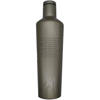 Love is 25 oz Canteen
