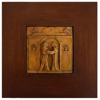 The Visitation of Mary, Framed