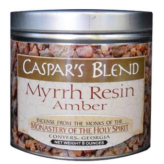 Caspar's Blend Myrrh Resin Amber 8 oz