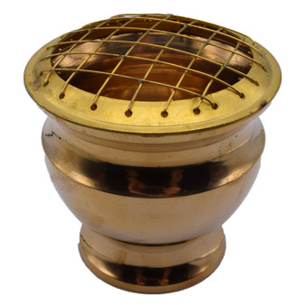 Brass Screen Burner 4 Inches Tall