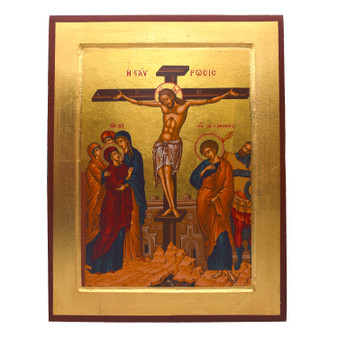 Crucifixion of Christ Icon