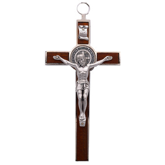 Germoglio St. Benedict Cross, 8 x  4 inches.