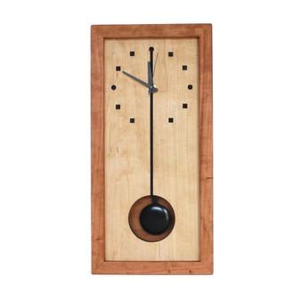 Tall Box Clock, Squares & Circles