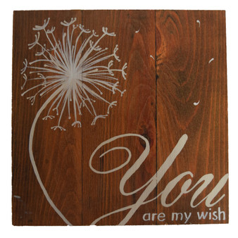 """""""You Are My Wish"""" Wall Hanging"""