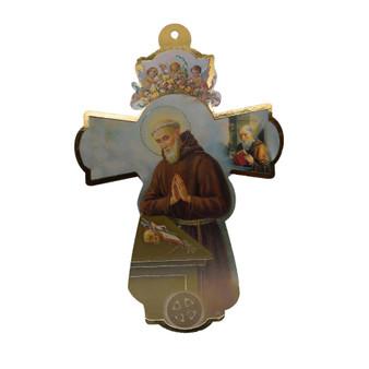 """St. Benedict Crucifix 12"""" X 8"""""""