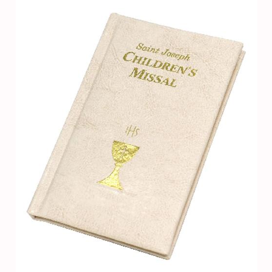 St Joseph Children's Missal, White Padded Cover