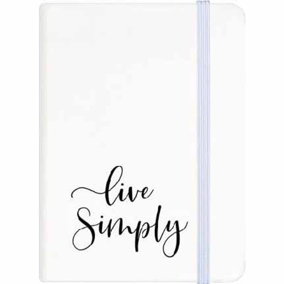 """Live Simply"" Notebook  and Journal"