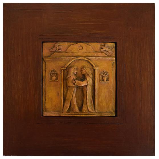 The Visitation of Mary, Framed