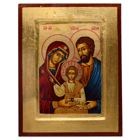 Holy Family Icon, 7 X 5 inches