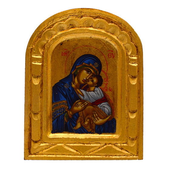 Lady of Perpetual Help Icon, 5.25 x 4 inches.