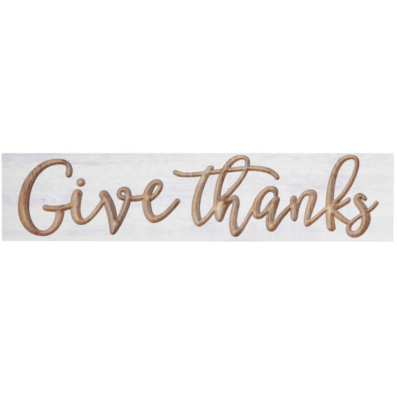 Give Thanks Wall Decor