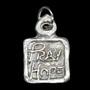 """""""Pray Hope and Don't Worry,"""" Maxim of St. Padre Pio Medal (Front)"""