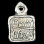"""""""Pray Hope and Don't Worry,"""" Maxim of St. Padre Pio Medal (Reverse)"""