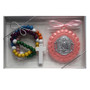 Angel Crib Medal and Rosary Set for Baby Girls