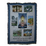 Monastery Throw with Seven Scenes from Monastery