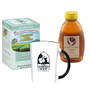 Charleston Tea Plantation Mint Tea and 16 oz. Abbot's Table Honey, Includes White Mug with Black Graphics