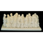 Last Supper in Alabaster Early to Mid 20th Century from Italy