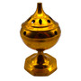 Brass Charcoal Burner 5 inches Tall