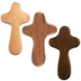 Hand Held Crosses: Light, Medium, Dark Stain