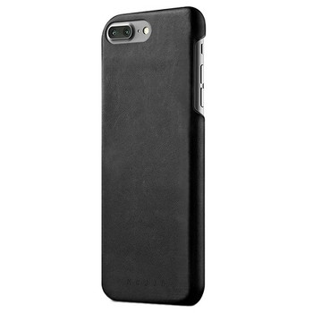 For iPhone 7 Plus / 8 Plus Leather Case black