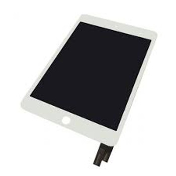For iPad Mini 4 LCD and Touch Screen Assembly. (White)